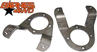 GM 14 BOLT DISC FULL FLOAT BRAKE CALIPER ADAPTER BRACKET DUAL REAR WHEEL, CAB & CHASSIS PAIR