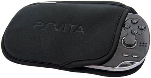 Coque de Protection de Transport Souple Manches Sac Pochette Compatible pour SONY PS Vita PSV Noir