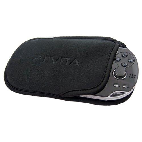 Custodia morbida a tasca, da viaggio, per Sony PlayStation Vita PSV, colore nero