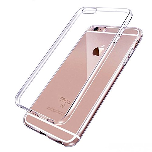 Handy Lux® Ultra dünn Handy Schutz Hülle Cover Clear Hülle Silikon für Apple iPhone 5 / 5s / SE