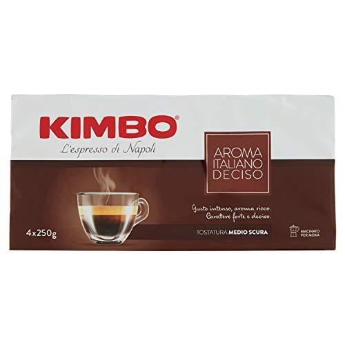 Kimbo Aroma Italiano Deciso 4 x 250 g