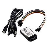 shentaotao Canales Analizador De Lógica 24m 8ch con Tampón De Apoyo 1.1.16 Compatible con Arduino Incluido E-Libro Negro