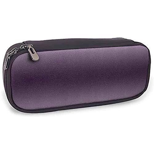 Estuche para lápices Ombre Hollywood Glam Show Color inspirado Diseño Ombre Decoraciones impresas en la habitación digital Regalo perfecto Púrpura