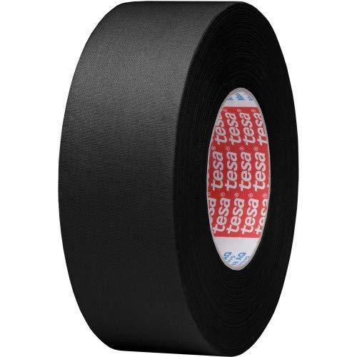 tesa 4541 Gaffa Tape Duct Tape (offenes Gewebe) 50mm schwarz 50m