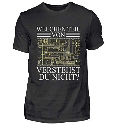 Welchen Teil von (Schaltplan/Layout/Board) verstehst du Nicht? Elektroniker Geschenk - Herren Shirt