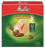 1000 x Rundfilter/Kaffeefilter'Melitta' Original 1 (Rund/Naturbraun)