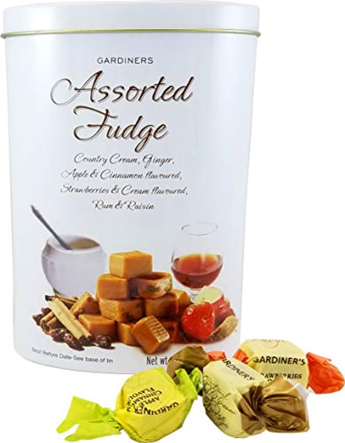 Gardiners of  Scotland Assorted Fudge Tin, 10.7-Ounce nwvgvnqq85852677