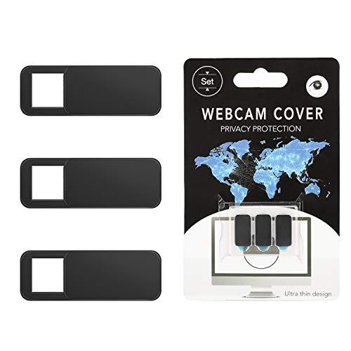 ウェブカメラカバー スライドwebカメラカバー プライバシー保護 盗撮、覗き見防止 超薄型 3個セット ノート...