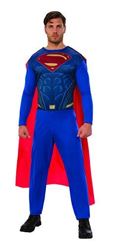 DC Comics Superman Costume for Men, Size XL Adult (Rubie's 820962-XL)