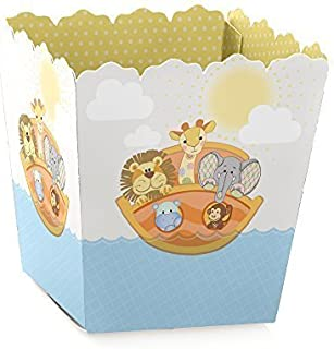Noah's Ark - Party Mini Favor Boxes - Baby Shower or Birthday Party Treat Candy Boxes - Set of 12