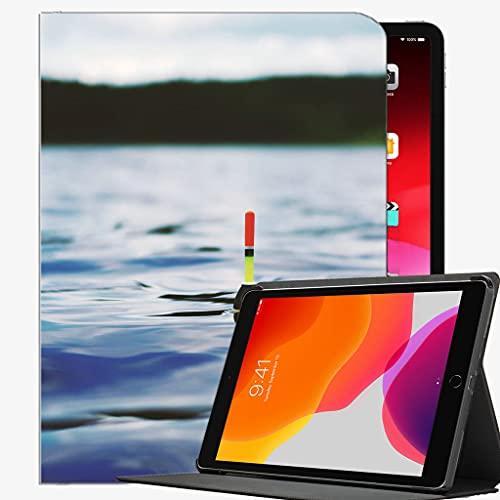 para iPad Case FIT 2018/2017 iPad 9.7 6ª / 5ª generación, Funda de Pesca del río Float Funda de Concha Delgada para iPad 9.7 Pulgadas
