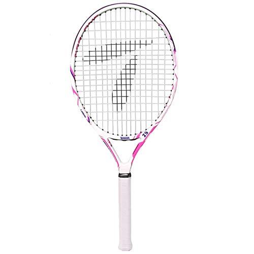 Raquetas Tenis para Niños con Carbono Completo Tenis Profesional Individual para Hombres Y Mujeres Traje Principiante Tenis De 25 Pulgadas