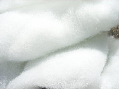 pemmiproducts Schneewatte, universal, 500 gr, weiß, schwer entflammbar British Standard (EUR 28,80/kg), besonders voluminöse und fluffige Optik, Dekoschnee, Kunstschnee