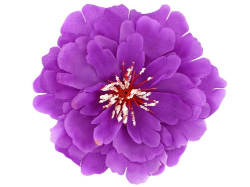 Hawaii Haarblume Haarblüte Honululu alle Farben, Farbe wählen:lila