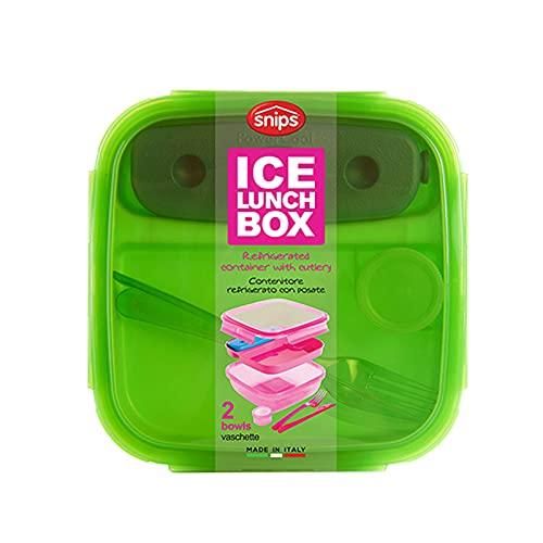 Snips 000802 Ice Lunch Box da 1,5 lt, Verde