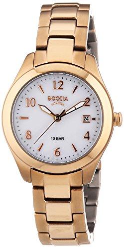 Boccia Damen-Armbanduhr XS Analog Quarz Titan 3224-04
