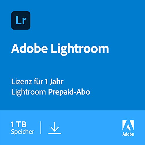 Adobe Lightroom 1TB | 1 Jahr | PC/Mac | Download