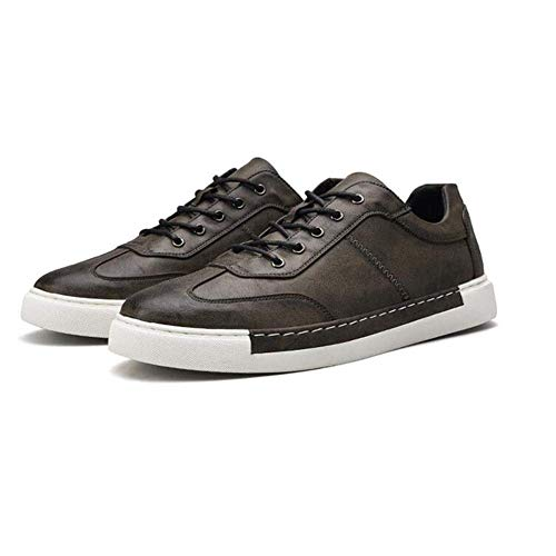 Heren Oxfords Schoenen PU Lederen Jurk Schoenen Voor Heren Business Walk Casual Sneaker (kleur : ROOD, Maat : EU42/UK8.5/CN43) Eu42/Uk8.5/Cn43-gray