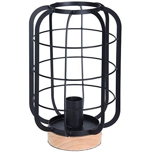 Home @ Styling Collection Lámpara de mesa, estilo loft, decoración industrial
