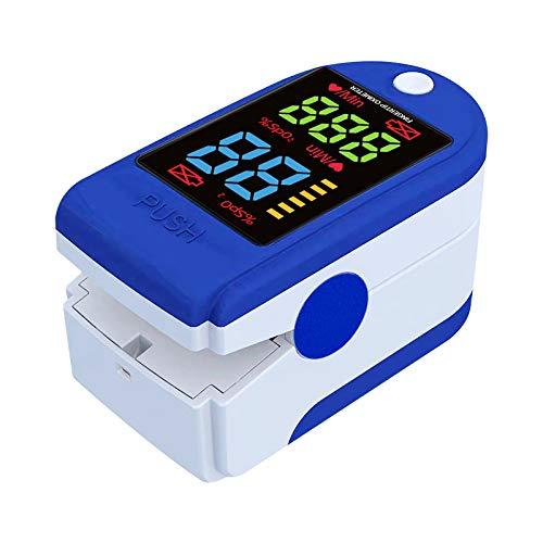 SHINEHUA Blutsauerstoff, Fingerpuls,Erkennung, schnelle Sekundenmessung, Für Kinder, Erwachsene, ältere Menschen, Familien und Krankenhäuser