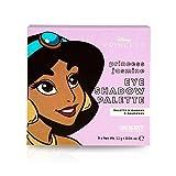 MAD Beauty Paleta de Sombras de Ojos Jasmine Licencia Oficial Disney - 9 x 1.1 g (Total: 9.9 g)