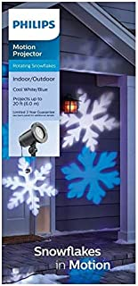 Philip Cool White and Blue LED Snowflake Motion Projector