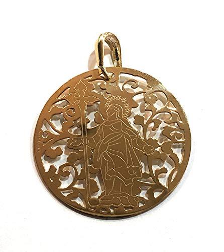 Medalla Duomo de Milán en Plata de Ley Cubierta de Oro de 18kt