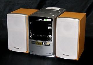 Panasonic パナソニック SC-PM510MD-S シルバー MDステレオシステム(CD/MD/カセットコンポ)(本体SA-PM510MDとスピーカーSB-PM510MDのセット)