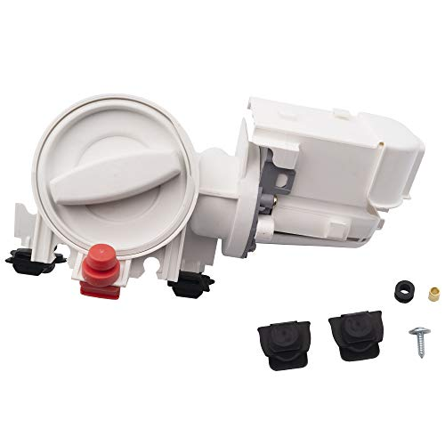 Price comparison product image Supplying Demand 280187 Washing Machine Drain Pump & Filter Assembly Replaces 8181684 8182819 8182821