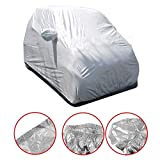 WM home Waterproof car Cover Car Auto Body Sun Rain Dust Proof Waterproof Cover Shield for Benz Smart Fortwo Car Cover