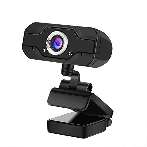 LQ Webcam Cámara Web HD 1080P Live USB para Microsoft HP Ordenador con micrófono en línea Webcams 1920 * 1080P