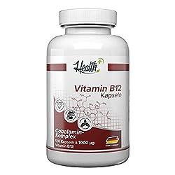 HEALTH+ VITAMIN B12 hochdosiert