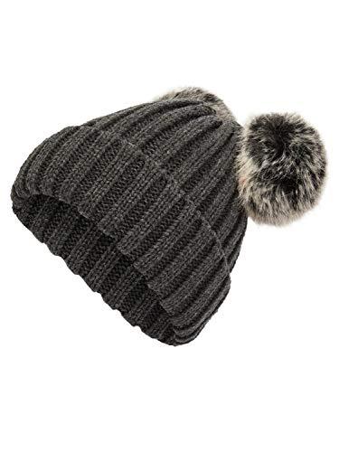 NAME IT Mixi voor hoed, kinderen, 51-52, donkergrijs