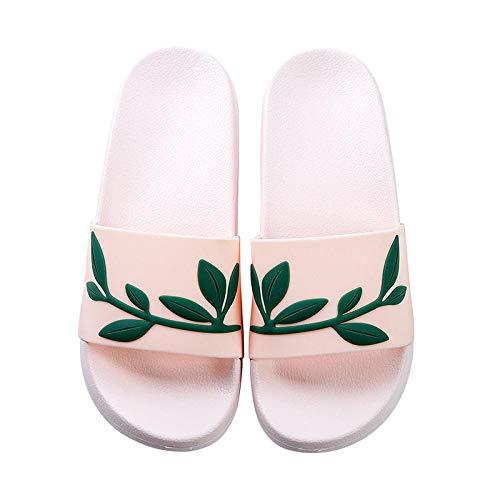 LLGG Zapatos de Playa Piscina Unisex Adulto,Sandalias de Masaje de baño, Zapatillas Antideslizantes de Extremo Grueso-Polvo Superficial 3_38/39,Zapatillas Interior Piso