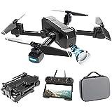 3T6B Drone avec Caméra 4K,Drone GPS 4K,Drone Pliant à Double Caméra, Double Système de Navigation et de Positionnement,Caméra de Réglage Électrique,5G-WiFi Drone avec Caméra pour Enfant Adulte