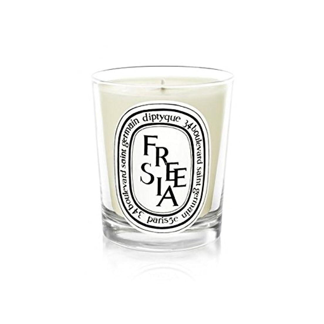 篭許可報いるDiptyque Candle Freesia / Freesia 190g (Pack of 6) - Diptyqueキャンドルフリージア/フリージアの190グラム (x6) [並行輸入品]