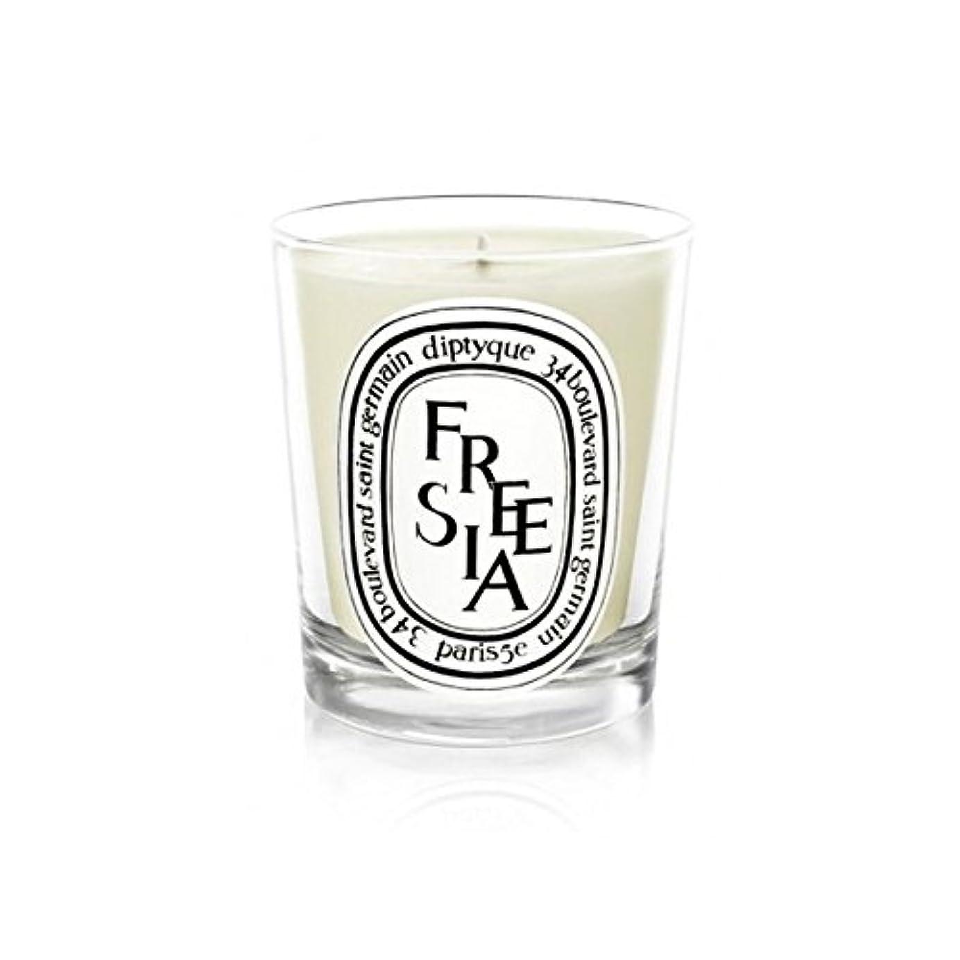 申請中あいまいうめきDiptyque Candle Freesia / Freesia 190g (Pack of 6) - Diptyqueキャンドルフリージア/フリージアの190グラム (x6) [並行輸入品]