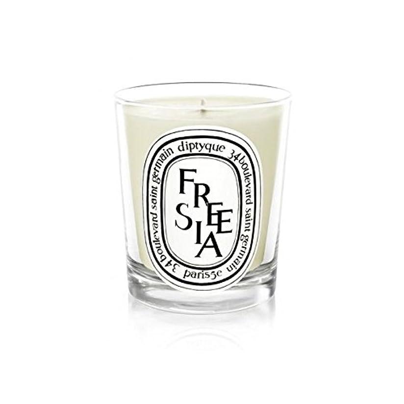 非常に存在将来のDiptyque Candle Freesia / Freesia 190g (Pack of 2) - Diptyqueキャンドルフリージア/フリージアの190グラム (x2) [並行輸入品]