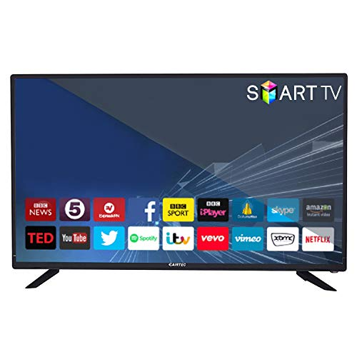 eAirtec 81 cms (32 inches) HD Ready Smart LED TV 32DJSM (Black) (2020 Model)