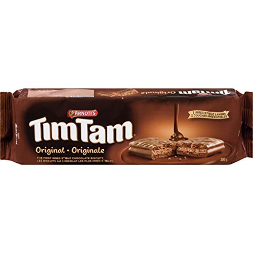 Arnott's Tim Tam Chocolate Biscuits, 175 Grams/6.2 Ounces, Original