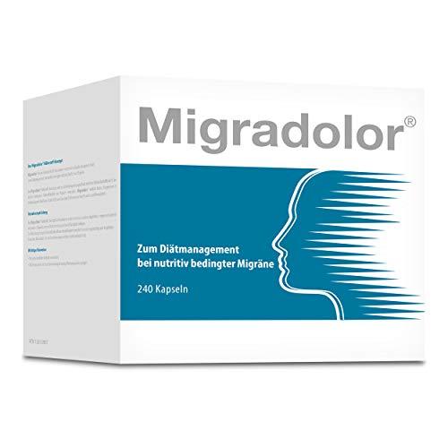 Migradolor Classic - Die natürliche Hilfe bei Migräne & Kopfschmerzen (240 Kapseln)