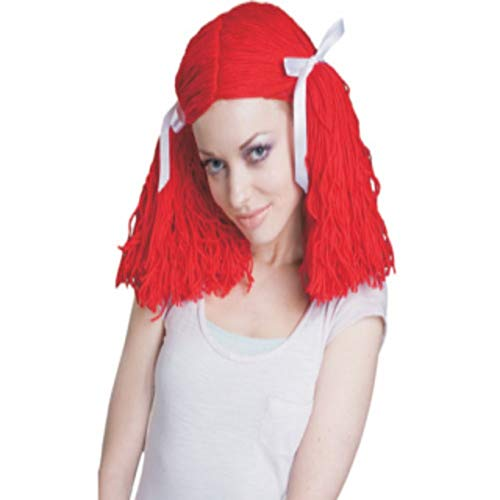 Dress Up America Girls' Little Raggedy Ann Wig, Red, Kids - http://coolthings.us