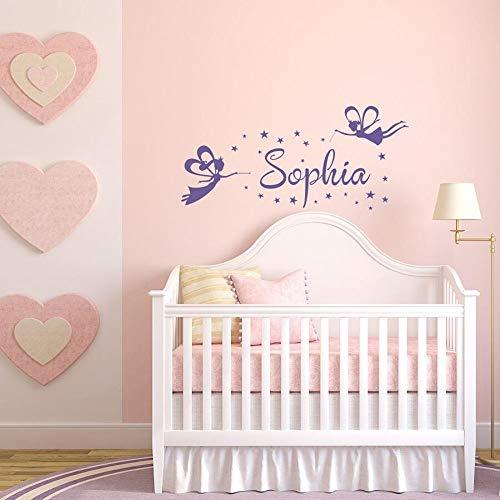 Pegatinas de pared magic anime girl habitación de bebé niños niña dormitorio dormitorio decoración del hogar pegatinas de vinilo
