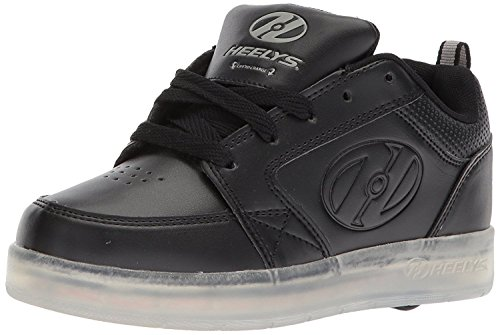Heelys Premium 1 Lo Triple Black Kids 2uk / Triple Black