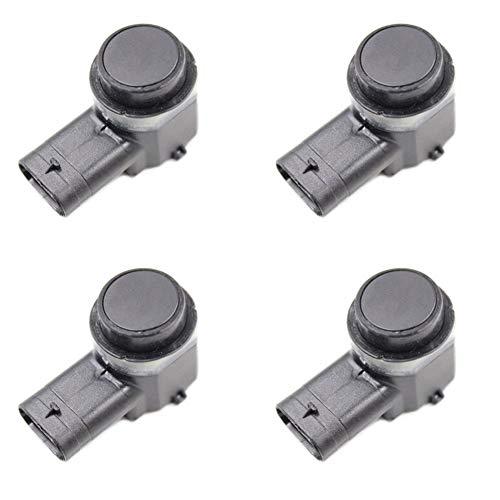 KEXQKN Preciso y Duradero, 4PCS PDC Sensor de Aparcamiento for Ford Jaguar Land Rover Gama Valeo 8A6T-15K859-AA, AB-9G92-15K859, 9G92-15K859-DA, 6G92-15K859-CB Duradero (Color : Black)