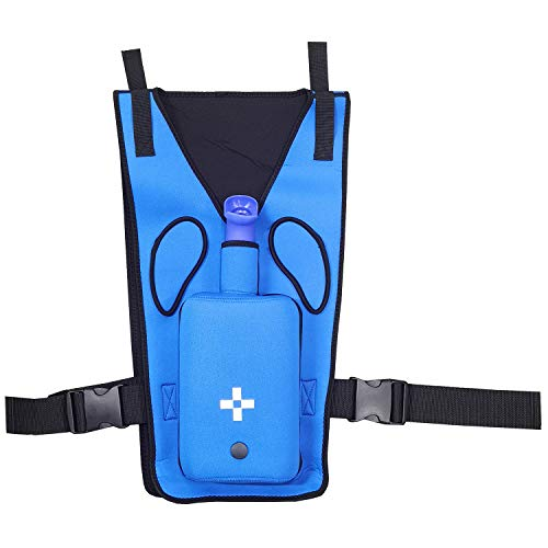 First Aid Teaching Equipment, Anti Choking Trainer with Back Slap, Heimlich Maneuver Device, Blue