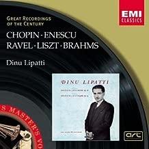 Dinu Lipatti- Chopin: Piano Sonata No. 3, Op. 58 / Enescu: Piano Sonata No. 3, Op. 25 / Brahms: Waltzes, Op. 39: 1, 2, 5, 6, 10, 14, 15 / Ravel: Alborado del gracioso / Liszt Great Recordings of the Century