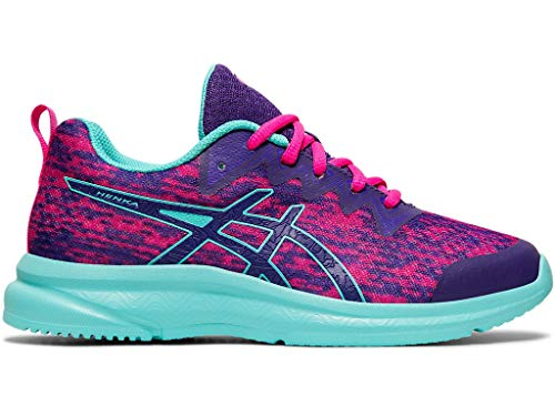ASICS Kid's Soulyte GS Running Shoes, 6M, Gentry Purple/ICE Mint