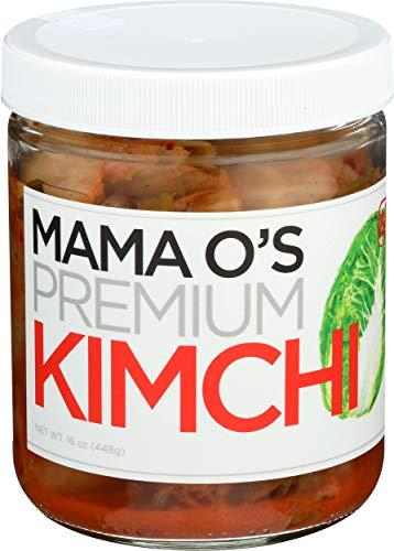 Mama Os, Kimchi Premium, 16 Ounce