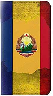 RW3021 Romania Flag PU Leather Flip Case Cover for Note 8 Samsung Galaxy Note8